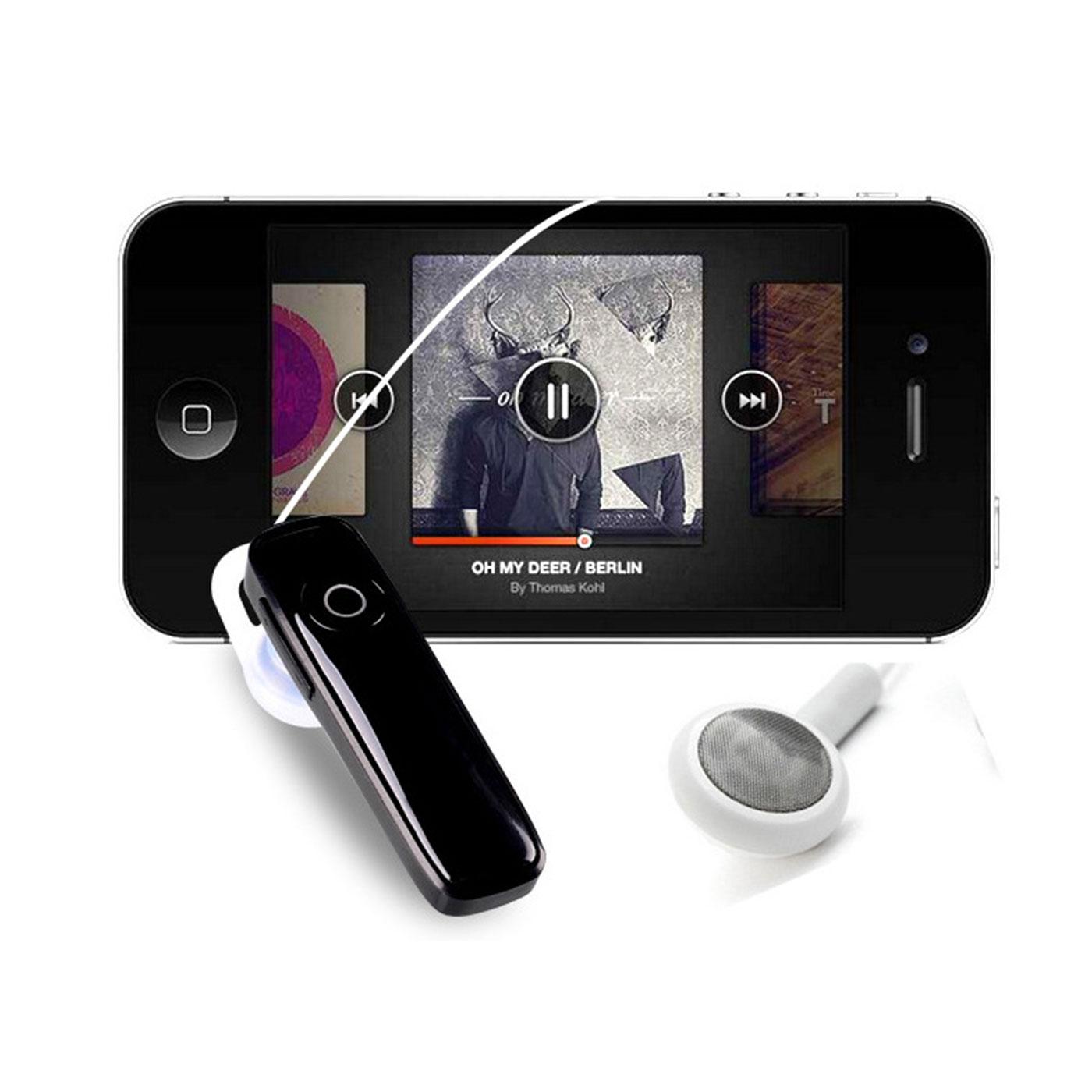 kabellos bluetooth headset kopfh rer f r samsung galaxy s4. Black Bedroom Furniture Sets. Home Design Ideas